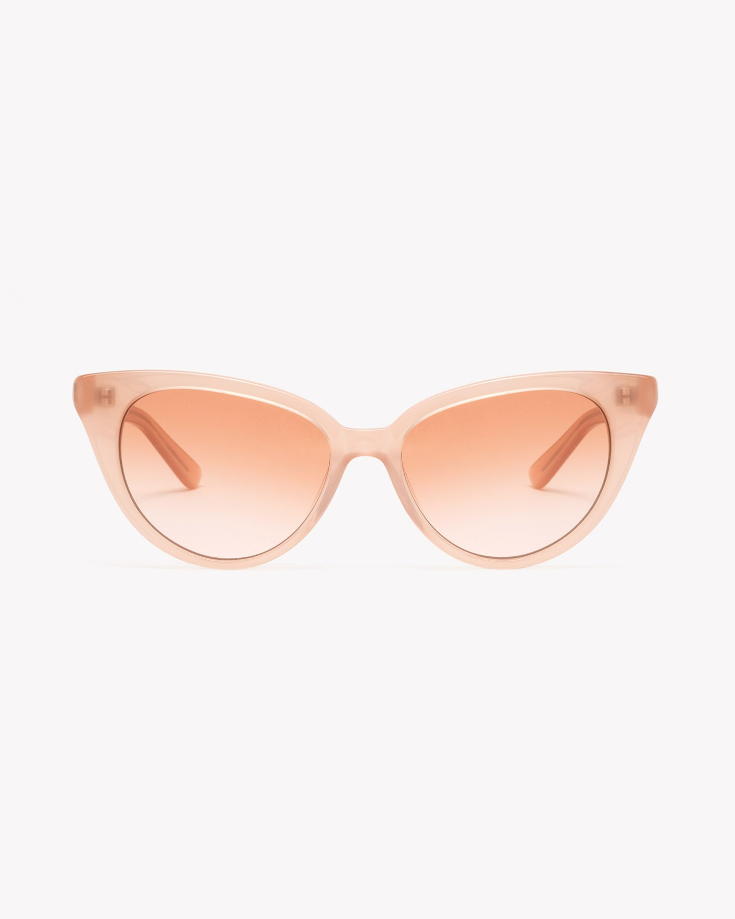 Velvet Canyon cat eye sunglasses, La Femme, Cat People Peach