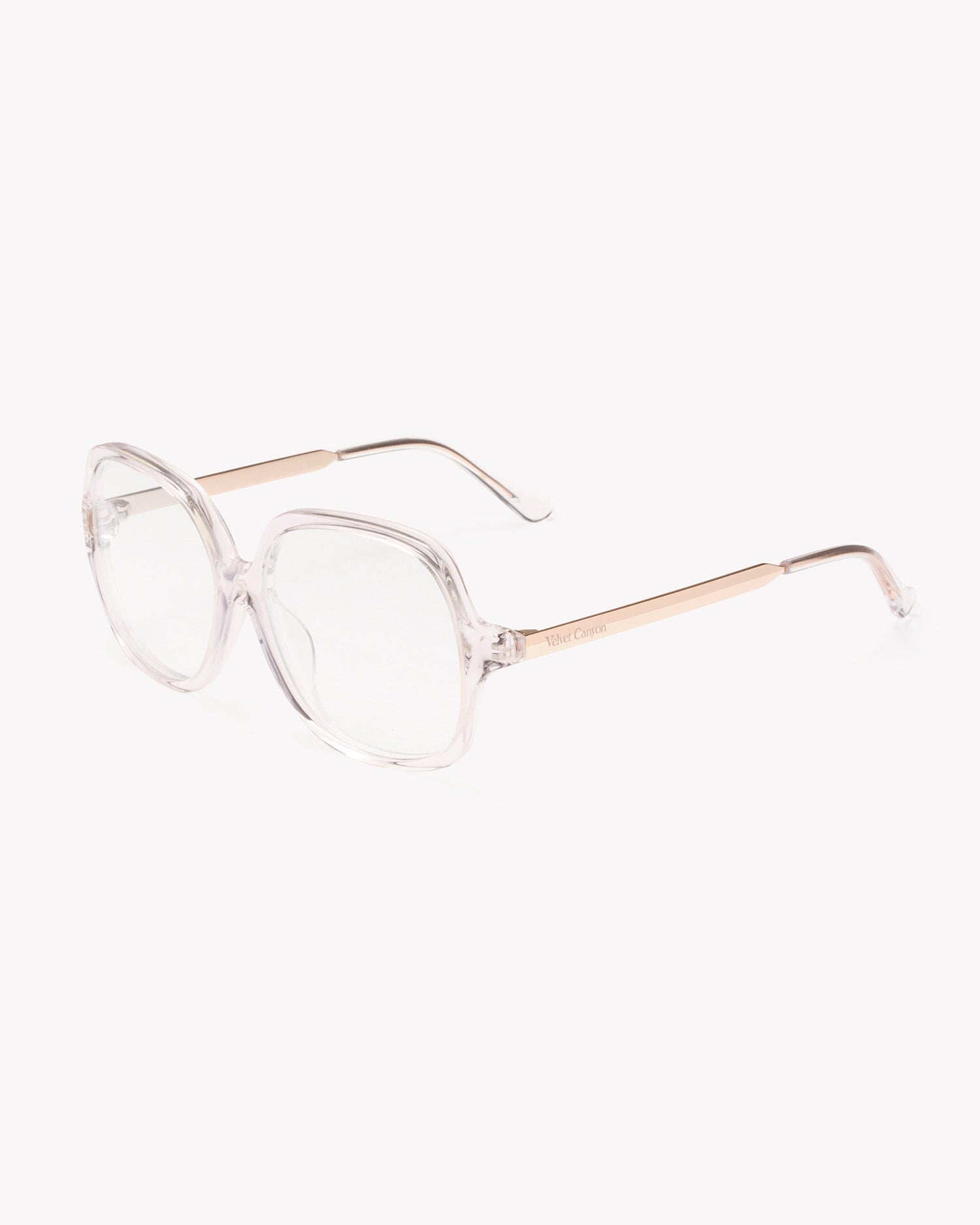 Velvet Canyon 70s vintage inspired sunglasses, Lucky Sevens Clear