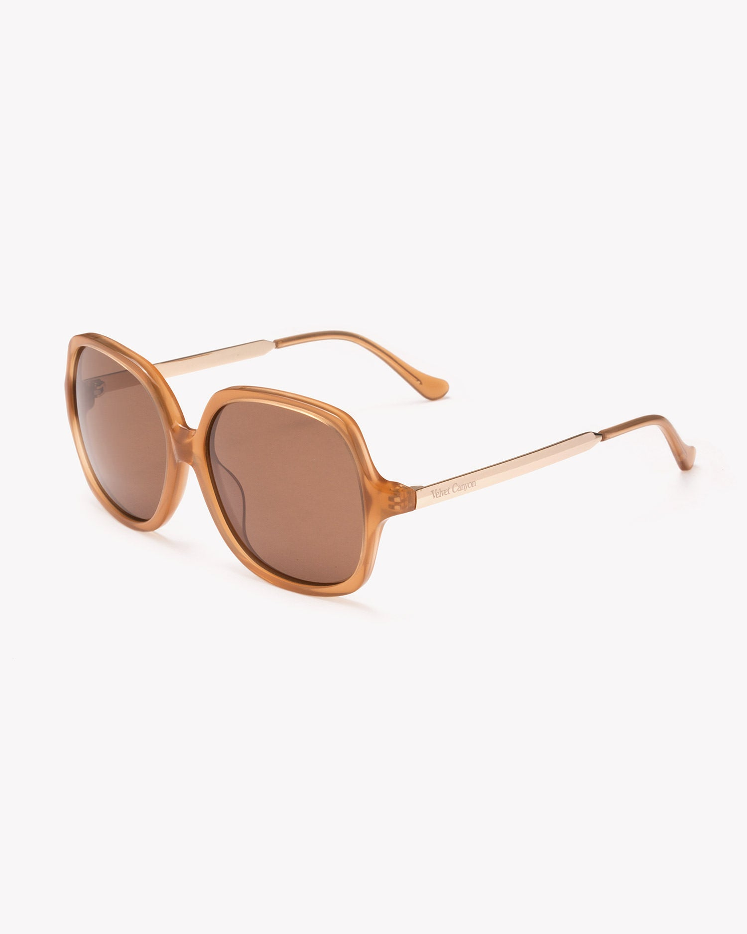 Velvet Canyon 70s vintage inspired sunglasses, Lucky Sevens Toffee