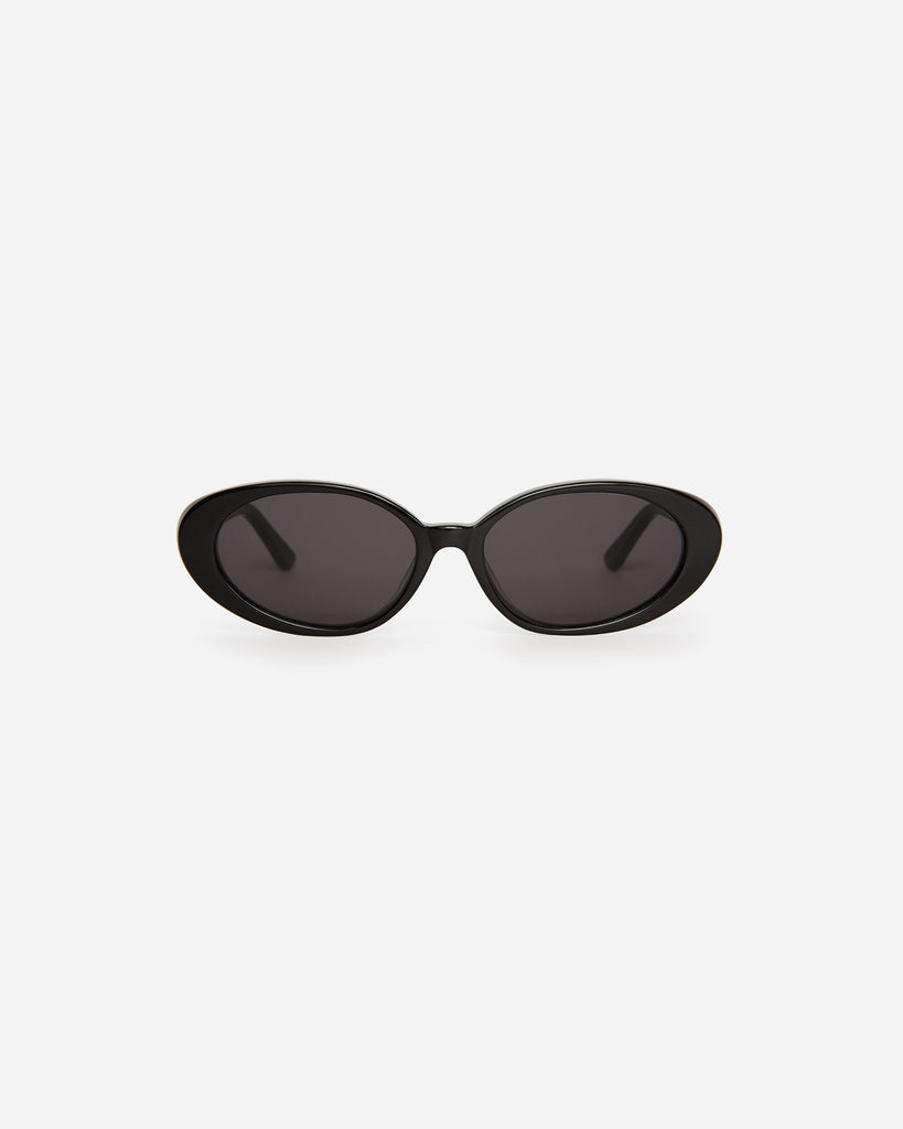 Velvet Canyon Sunglasses eyewear vintage 1940s 50s 1960s 60s 1970s 70s 80s 90s inspired sunnies cat eye modern Lunettes de Soleil lenses round the poet Black Noires