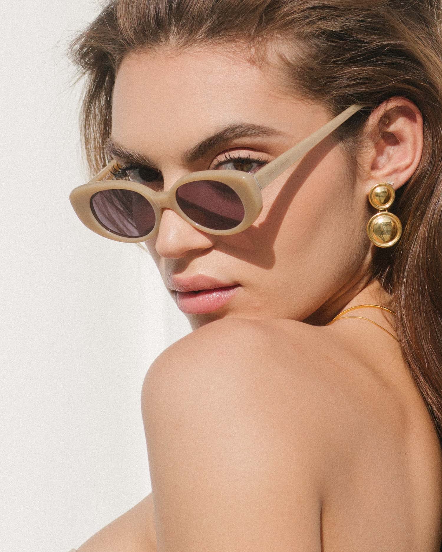Velvet Canyon A La Plage Tan Sunglasses vintage 60s 70s inspired sunnies