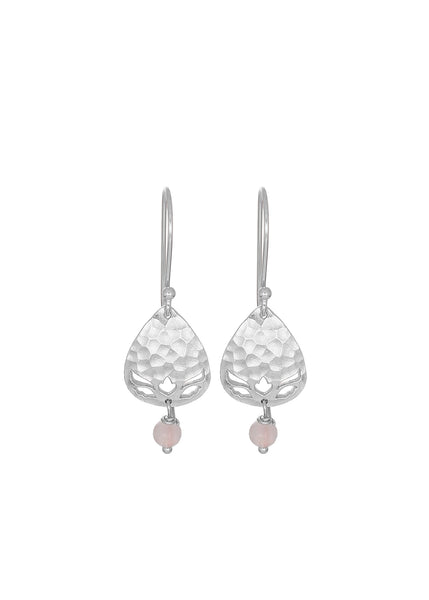 Arabella Teardrop Earrings Silver