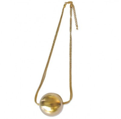 Lulu Ball and Chain Necklace