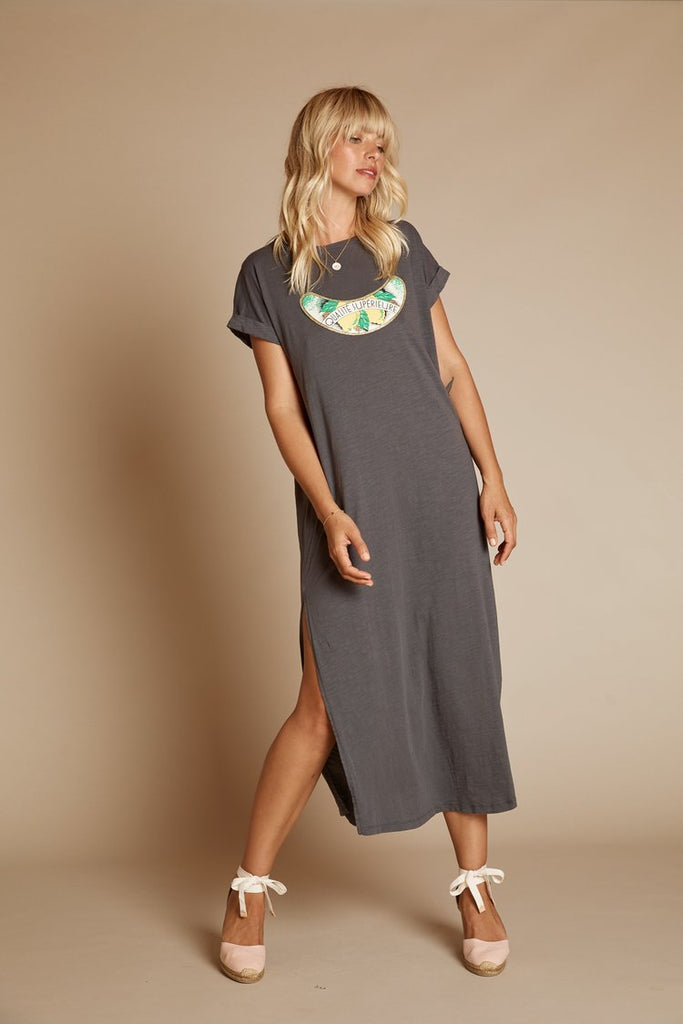 Citron Dress Charcoal