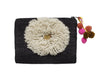 Daisy Wool Clutch