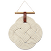 Endless Knot Wall Hanging Natural