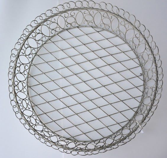 Marsailles Shallow Wire Basket