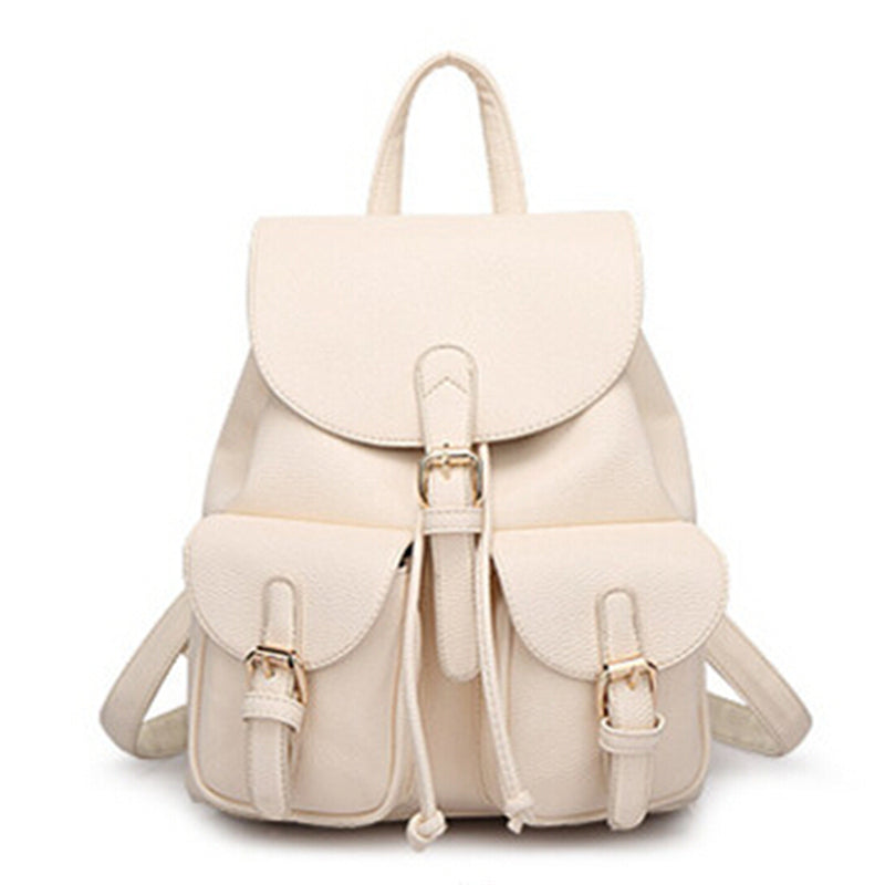 Valentine Vintage Leather Backpack