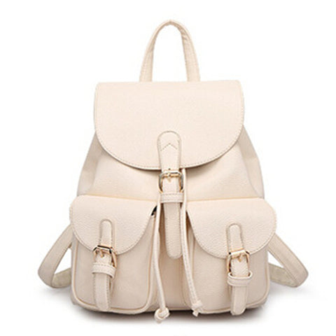 Josephine Vintage Leather Backpack