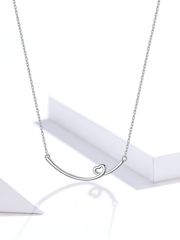 Smile Heart Necklace
