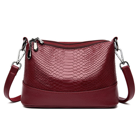 Perry Snake Pattern Bag