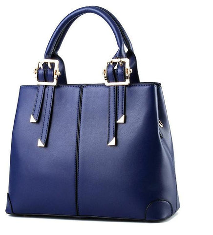 Charlotte Leather Tote Handbag