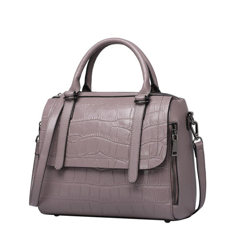 Chloe Lavender Genuine Leather Shoulder Bag