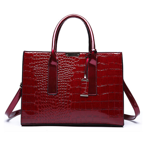 Crocodile Pattern Bag