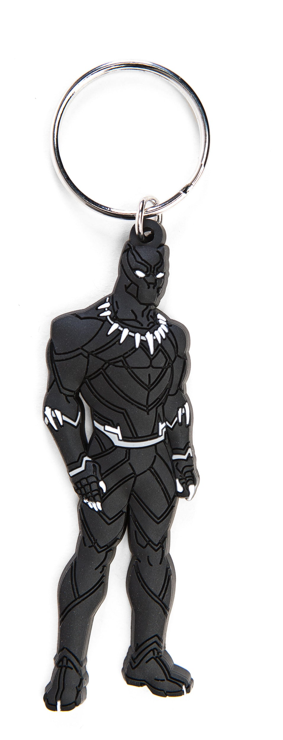Black Panther Soft Touch Keyring from StraightOuttaWakanda.com