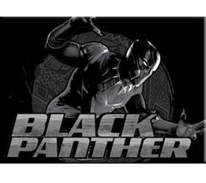 The Black Panther Magnet from www.StraightOuttaWakanda.com