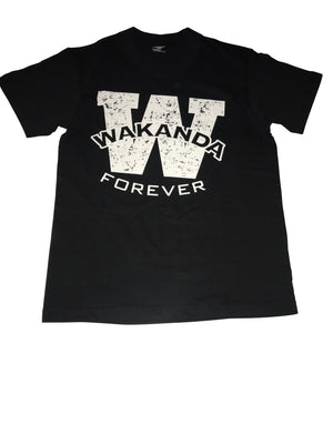 Wakanda Forever T-shirt in 100% cotton from www.StraightOuttaWakanda.com