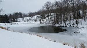 AERATING YOUR POND DURING THE WINTER