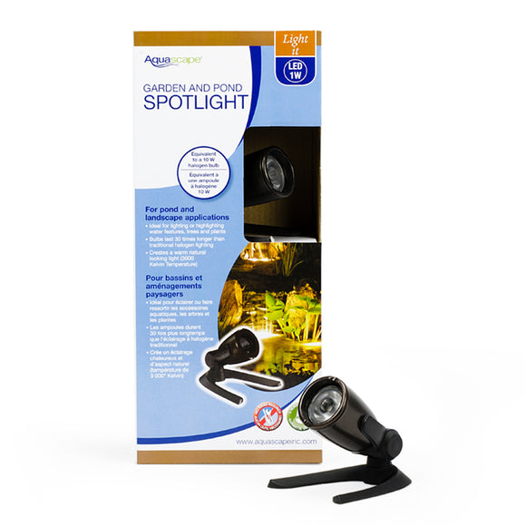 Garden and Pond 1-Watt LED Spotlight
