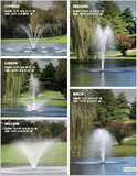 Kasco® 3/4 HP 3400JF Series Fountain