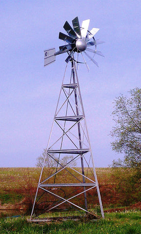 Three-Leg Windmill Aerators