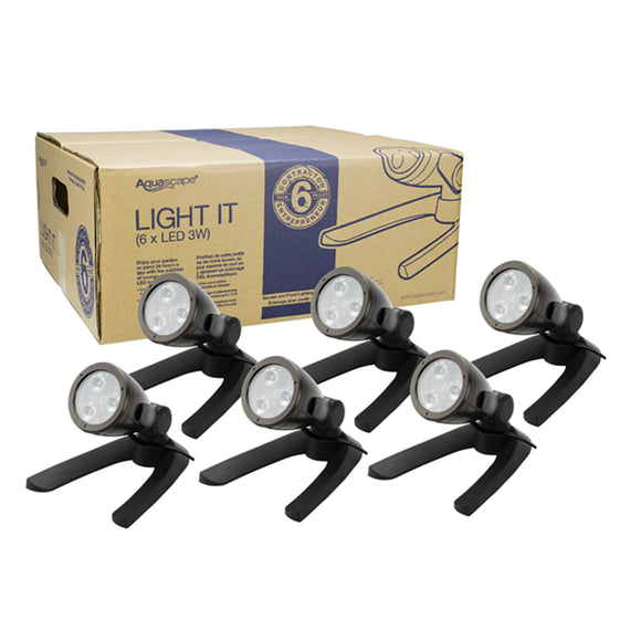 3-Watt LED Spotlight 6-Pack