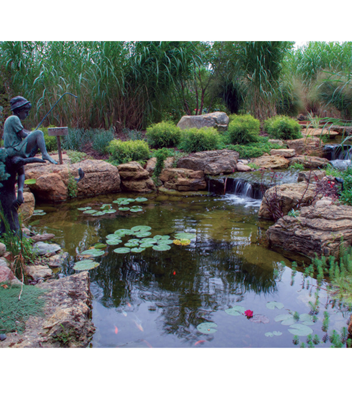 Aquascape Waterfall Spillway The Pond Shop The Pond Shop