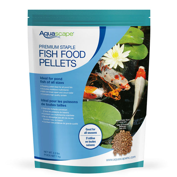 Premium Staple Fish Food - Mixed Pellets