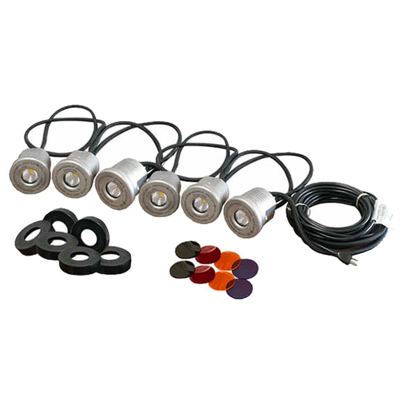 Kasco® 6-Fixture LED Stainless Steel Lighting Kit
