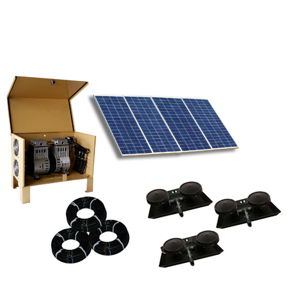 Outdoor Water Solutions Classic DW™ (Deep Water) Solar 6 Aerator - The Pond Shop