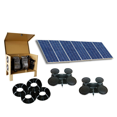 Outdoor Water Solutions Classic DW™ (Deep Water) Solar 8 Aerator