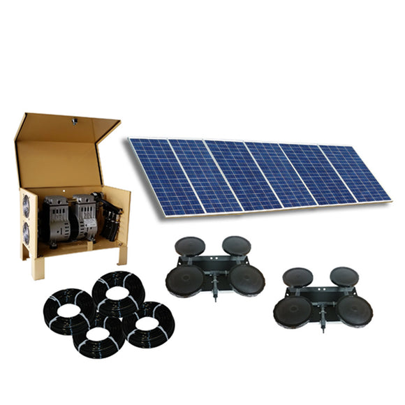 Outdoor Water Solutions Classic DW™ (Deep Water) Solar 8 Aerator - The Pond Shop