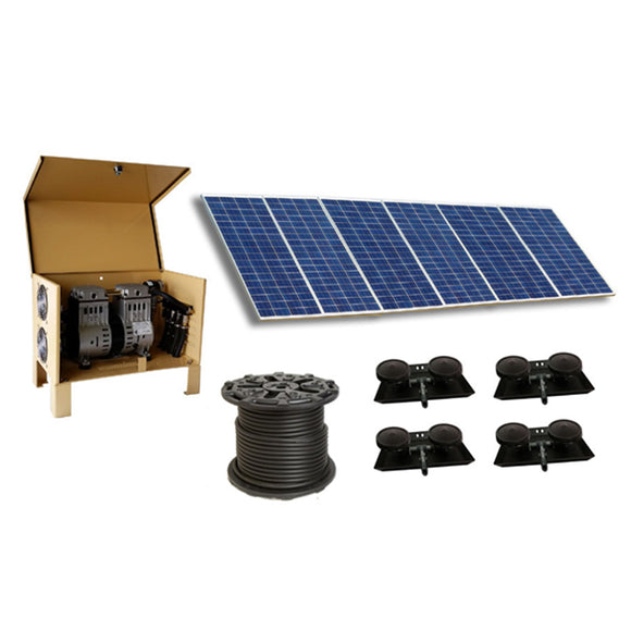 Outdoor Water Solutions Classic DW™ (Deep Water) Solar 9 Aerator - The Pond Shop