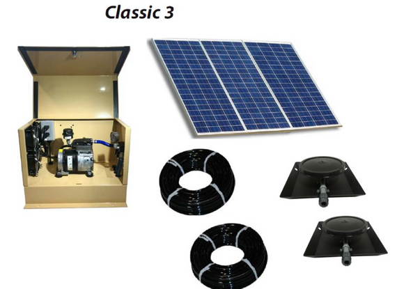 Outdoor Water Solutions Classic DW™ (Deep Water) Solar 3 Aerator