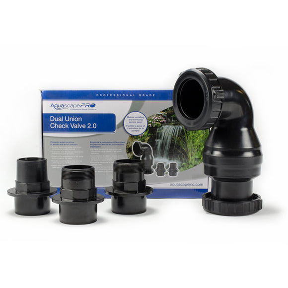 Aquascape® Dual Union Check Valve 2.0