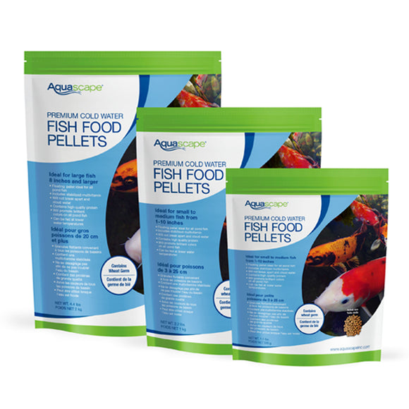 Premium Cold Water Fish Food Pellets