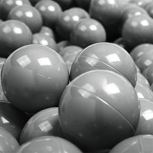 Ball Pool Package 90cm x 30cm, 200 x Pale Lime, Grey and White Balls