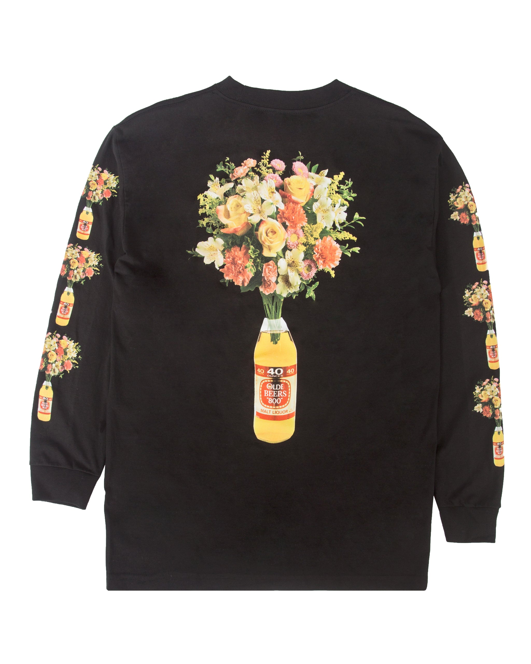 40oz of Beauty Longsleeve Tee, Black