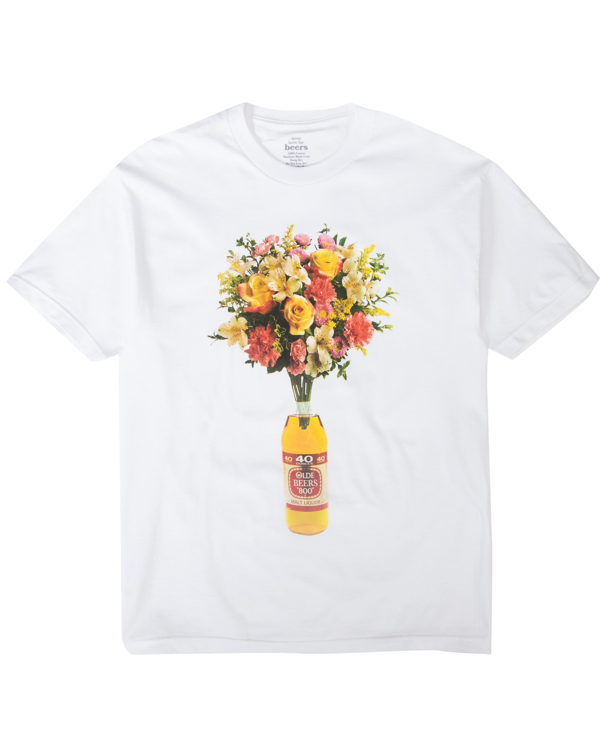 40oz of Beauty Tee, White