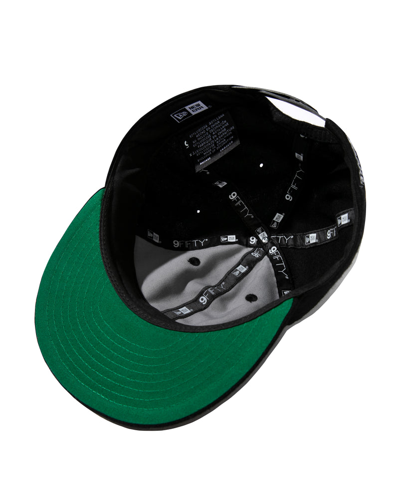 New Era Collegiate Snapback, Black