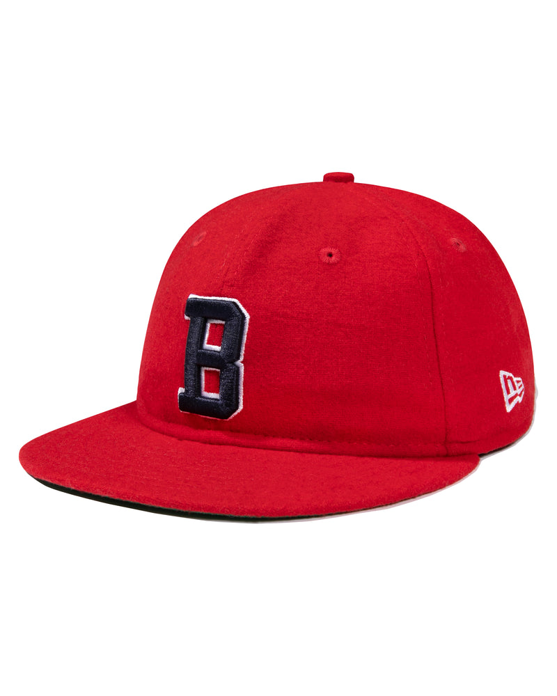 New Era Collegiate Snapback, Red
