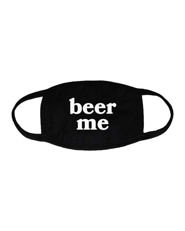 Beer Me Mask, Black