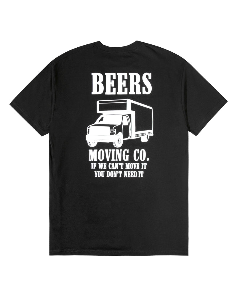 Moving Company Tee, Black