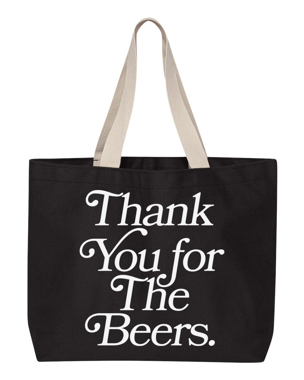 Thank You Tote, Black