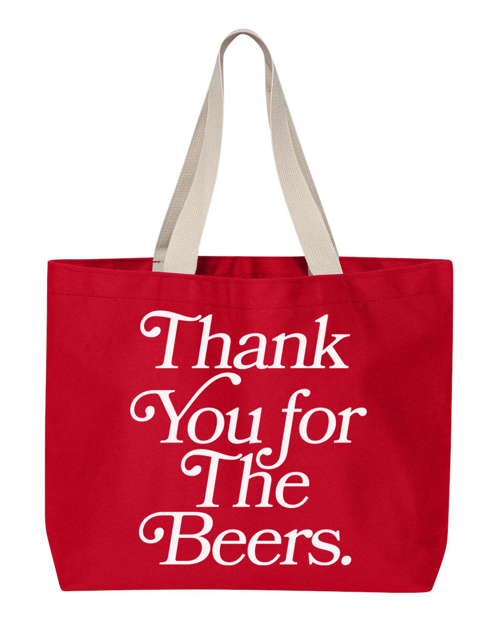 Thank You Tote, Red