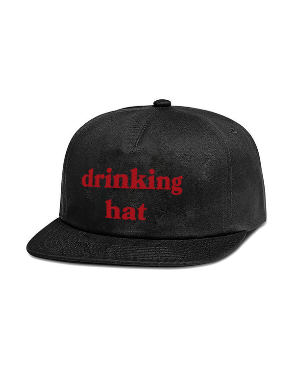 Drinking Hat, Black