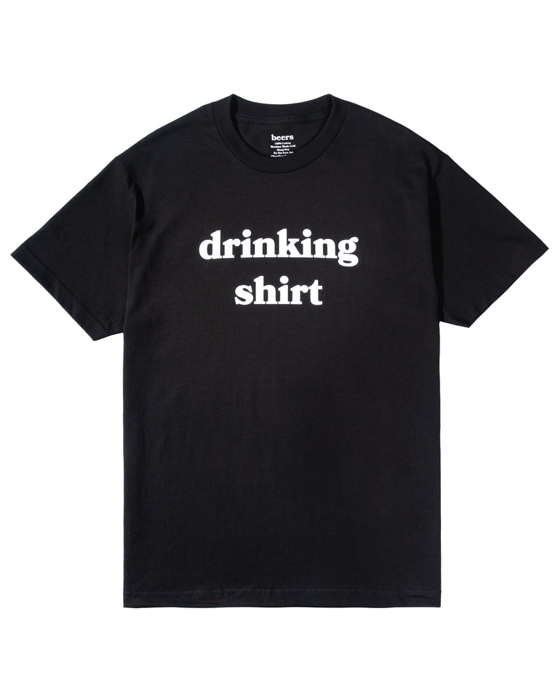 Drinking Shirt, Black