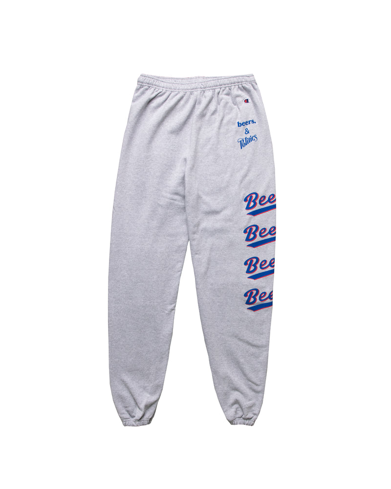 BASEketball Play Ball Sweatpants, Heather Grey