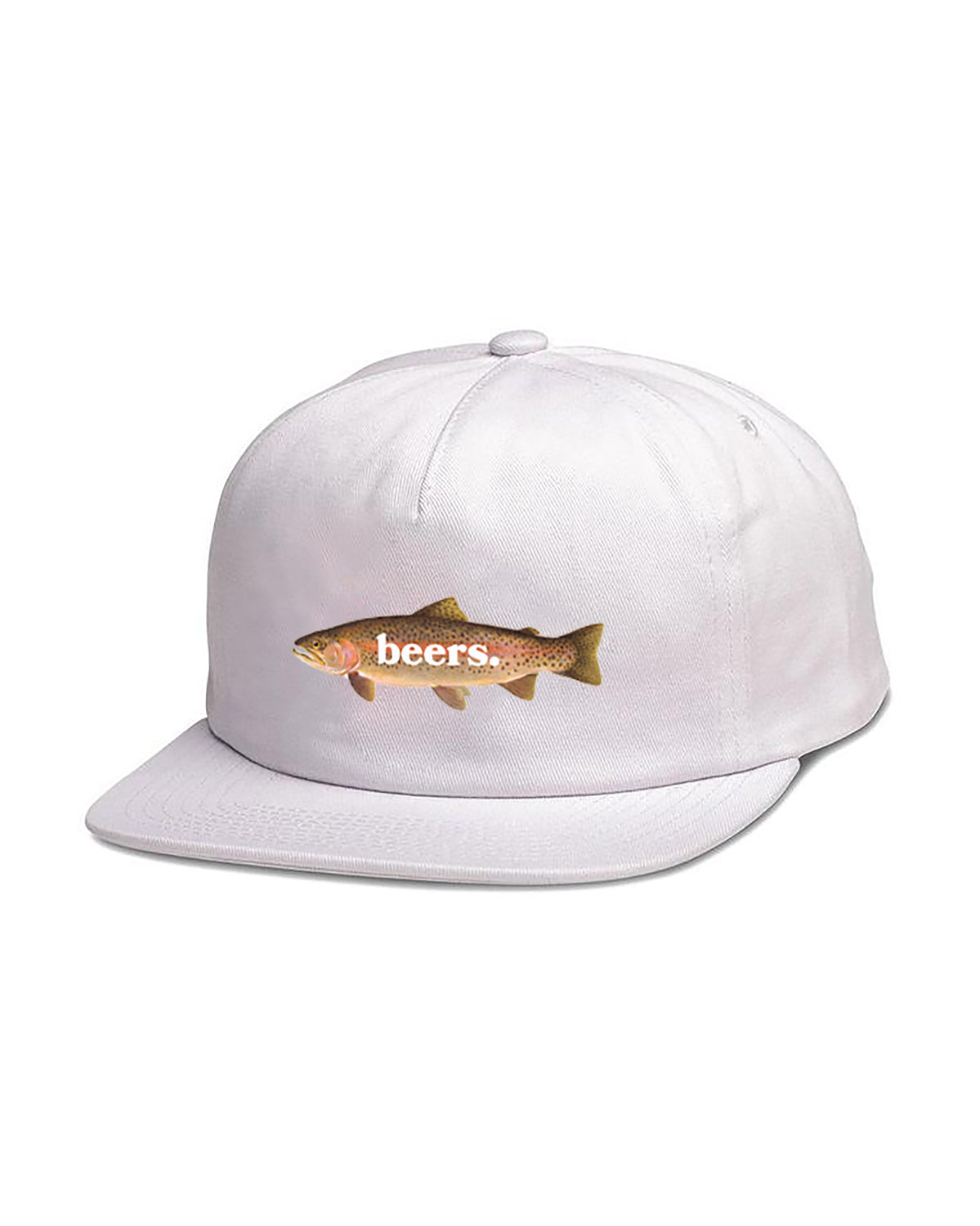 Trout Hat, White