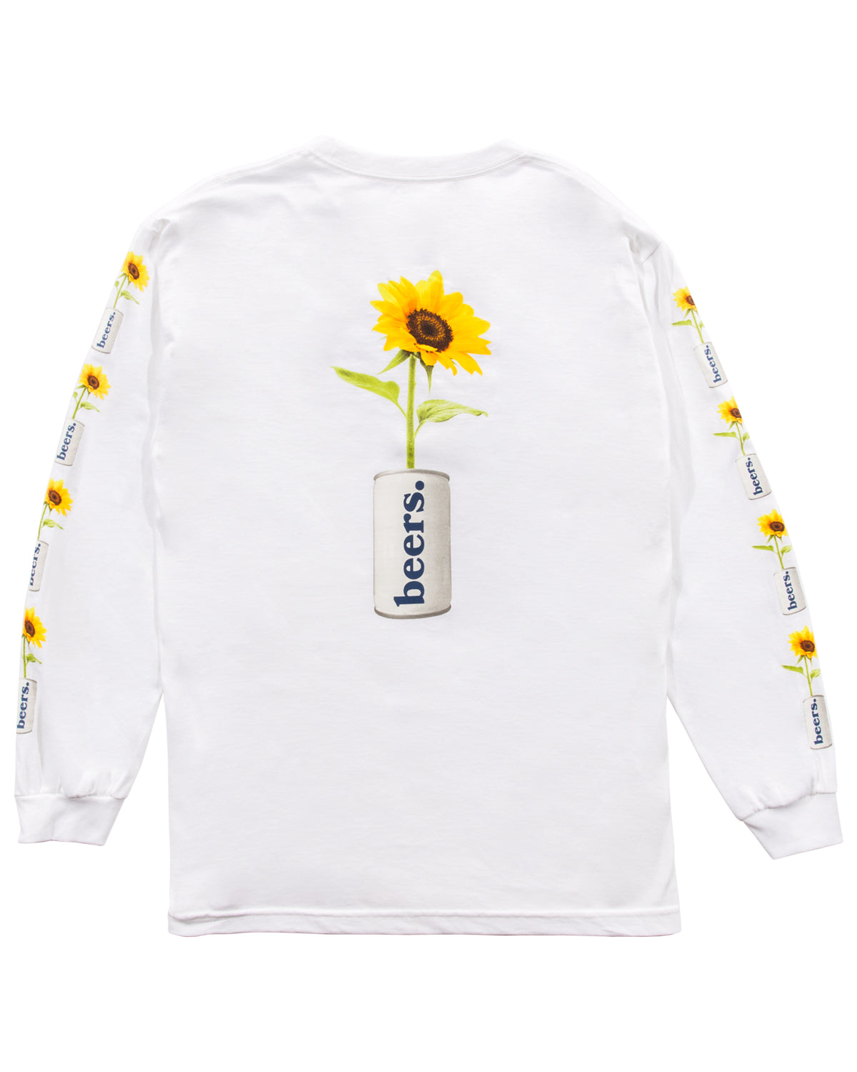 True Love Longsleeve Tee, White